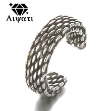 Brief Nets Thailand Silver Jewelry Rings Vintage 925 Silver Rings For Women