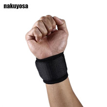 2Pcs/Lot Pressurized Sports Wristbands Fitness Weight Lifting Gym Powerlifting Wrist Support Wraps Straps Carpal Tunnel(China)