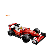 New Car-styling Speed Champion FIA F1 World Championship SF16-H racing building block racer figures 75879 toys for boys gifts(China)