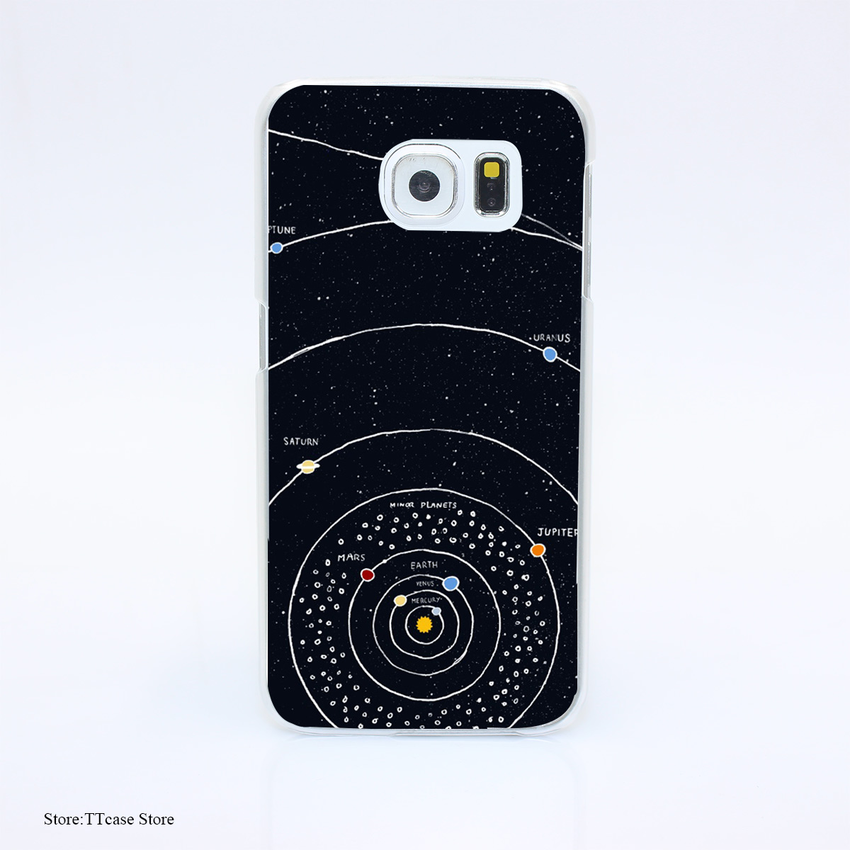 3065G Solar System Drh Print Hard Transparent font b Case b font Cover for Galaxy S3