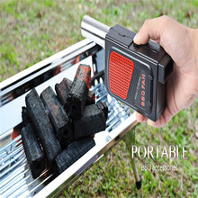 Portable Barbecue Air Blower Practical Durable Outdoor Camping Electricity BBQ Air Blower Fan for Barbecue Fire Bellow