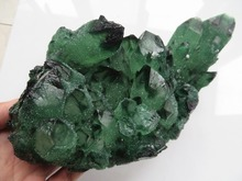 1500g Big Natural Green Original Quartz Crystal Cluster Crystal Healing(China)