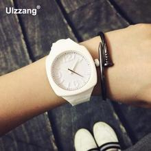 Fashion Trend Sports Square Jelly Candy Korean Silicone Quartz Wrist Watch Gift for Students Lovers Women Ladies