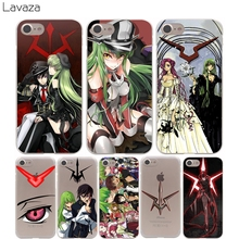 Lavaza Code Geass Cover Case for iPhone X 10 8 7 Plus 6 6S Plus 5 5S SE 5C 4 4S Cases(China)