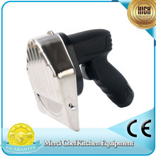 Hot sales Wireless Kebab Slicer with Battery Meat Shawarma Doner Knife Turkey Electric Gyros Cutting Meat Food Machine(China)