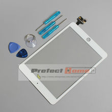 For iPad mini 3 Touch Screen Digitizer assembly with ic connector  free tools free shipping tested one by one good quality