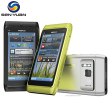 "Original Unlocked Nokia N8 Mobile Phone 3G WIFI GPS 12MP Camera 3.5"" Screen 16GB Storage cheap phone(China)"