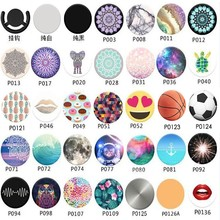 Popsockets car phone holder silicone flexible mobile cellphone desktop stand desk table support for iphone7 plus Ipad Smartphone