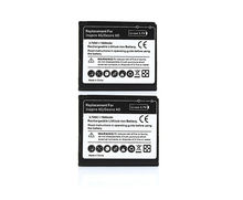 2pcs 1600mAh Phone Replacement Batteria Batteries For HTC Desire HD Fit G10 Inspire 4G Ace BD26100 A9191 T8788 Battery