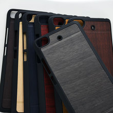 wood leather with plastic hard case for Xiaomi mi5S mi5 s mi 5 classical Vintage Retro Style cover case