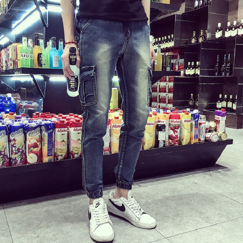 2017 New Arrival Mens Simply Straight Jeans High Quality Denim Overall Men Fashion Men Skinny Jeans Pants Plus Size Hot SaleОдежда и ак�е��уары<br><br><br>Aliexpress