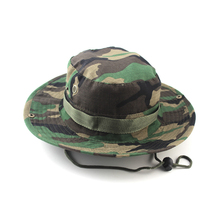Unisex Bucket Hats Jungle Military Camouflage Bob Camo Bonnie Hat Barbecue Cotton Caps(China)