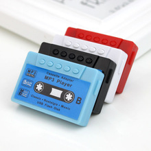 Hot Sell Gift Mini Mp3 Player Portable Music Player Support 32G Micro TF Card Slot (MP3 ONLY) Can Use As USB Flash Dish