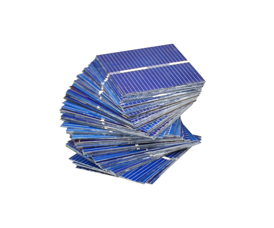 Aoshike 100pcs 0.5V 0.2W 0.4A 39*31.2mm Polycrystalline Silicon Solar Panel DIY Charger Battery Solar Cell 6