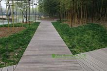 Bamboo Outdoor Flooring / Bamboo Decking Prices / Non-slip decking for sale(China)
