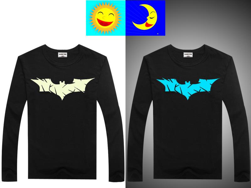Luminous Long Sleeve T-Shirt For Boys T Shirt Batman Christmas Teen Girl Tops Size 10 11 12 14 years Teenage Toddler Boy Tshirts 7