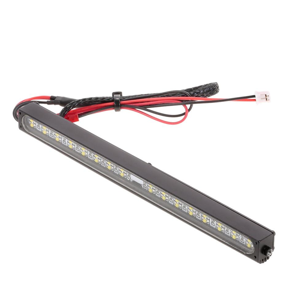 Metal LED Roof Light Lamp LED Light for Traxxas Trx-4 SCX10 90027 & SCX10 II 90046 90047 RC Crawler Parts RC Car Truck Parts (2)