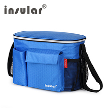 INSULAR Baby Stroller Bag Large Diaper Bag Organizer Fashion Nappy Bags For Pram Inner Container Maternity Baby Insulation Bags