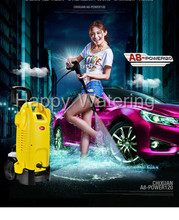 High Pressure Cleaner 220v Household High Pressure Car Wash Machine Electric Portable Car Washing Device Car Wash Pump