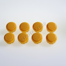 8 pcs/Lot Arcade Push Button With Micro Switch Replace For SANWA Push Button OBSF-30 OBSN-30 OBSC-30 & Arcade Sticks USB Games