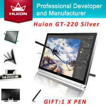 Huion GT-220 21.5-inch IPS HD LCD Monitor Touch screen Monitors Interactive Pen display Deaktop Monitor Digital Tablet Monitors