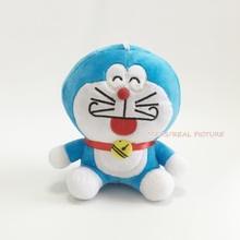 New Arrival Sitting 18cm Doraemon Plush Toys Cute Japanese Anime Figure Soft Stuffed Dolls 2 Styles Free Shipping