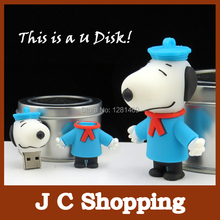 Cartoon dog pendrive Thumb usb flash drive U Disk Flash Disk 2gb 4gb 8gb 16gb 32gb usb flash menory drive free shipping