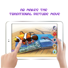 4D AR book AR Drawing Toys Learning Machines educational toys light draw android gamepad toys for children book for baby kids(China)