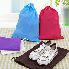 1Pc Portable Travel Shoe Pouch Storage Bags Shoes Storage Bag Pocket Traveller Drawstring Waterproof Pouch Backpack 8zbb042-3