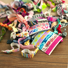 20pcs/lot Goody Ouchless Ribbon Elastics Hair Bands-Girls Women's Hair Accessories Emi Jay Like Elastic Yoga Hair Ties