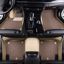 Full Set Car floor mats for Ford all Focus Fiesta Edge Edge Escape Kuga Explorer Fusion Mondeo Ecosport 3D car styling floor mat(China)