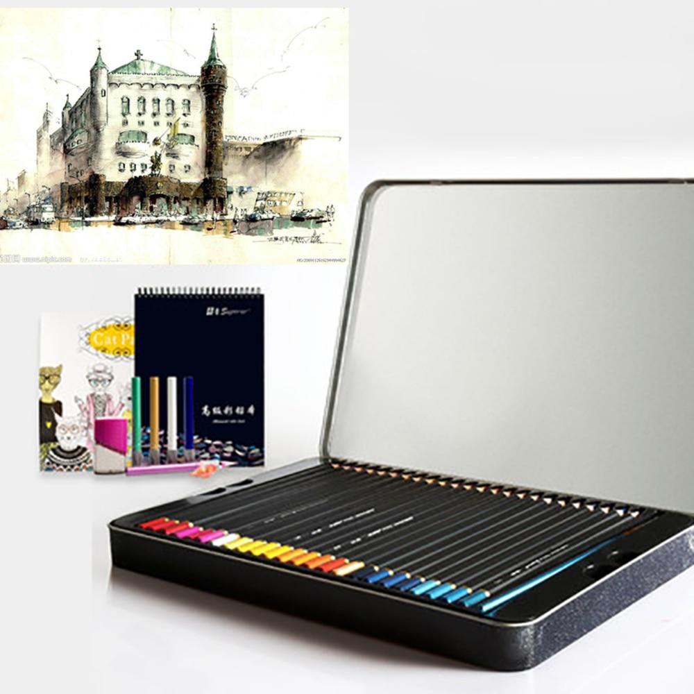 Superior 36 Color Pencil Lapis De Cor Prismacolor Colored Pencil Set For Drawing Sketching Stationery Pencil School Art Supplies<br>