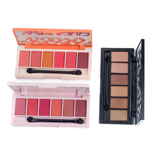 New Brand Eyeshadow Palette 6 Color Shimmer Glitter Eye Shadow Makeup Eyeshadows Maquiagem Smoky Shinning Eyes Make Up