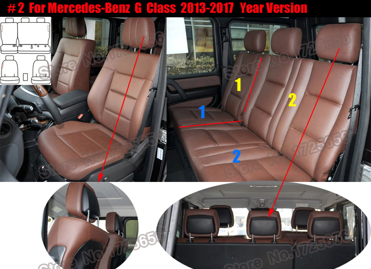 Car seat cover for car seats set (2)