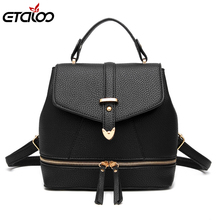 2017 shoulders bag explosion tide fashion female student bag manufacturers selling(China)