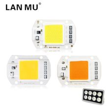 Buy LAN MU LED COB Lamp Chip 50W 40W 30W 20W 10W Grow Light Bulb 220V 110V need driver Smart IC DIY LED Floodlight Spotlight for $1.20 in AliExpress store