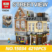 Lepin 15034 4210Pcs Genuine MOC Series The New Building City Set Building Blocks Bricks Educational Toy Model Christmas Gifts(China)