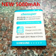 5000mAh EB-L1G6LLU cell mobile phone FOR SAMSUNG GALAXY s3 battery i9300 free singapore air mail with retail box