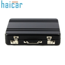 Haicar organizer Metal Mini Suitcase Business Bank Card Name Card Holder Case Boxes Storage Box organizer Quality First