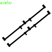 2 x Carp tackle New fishing rod pod Fishing buzz bar for 3 fishing rods fishing rod holder 40cm