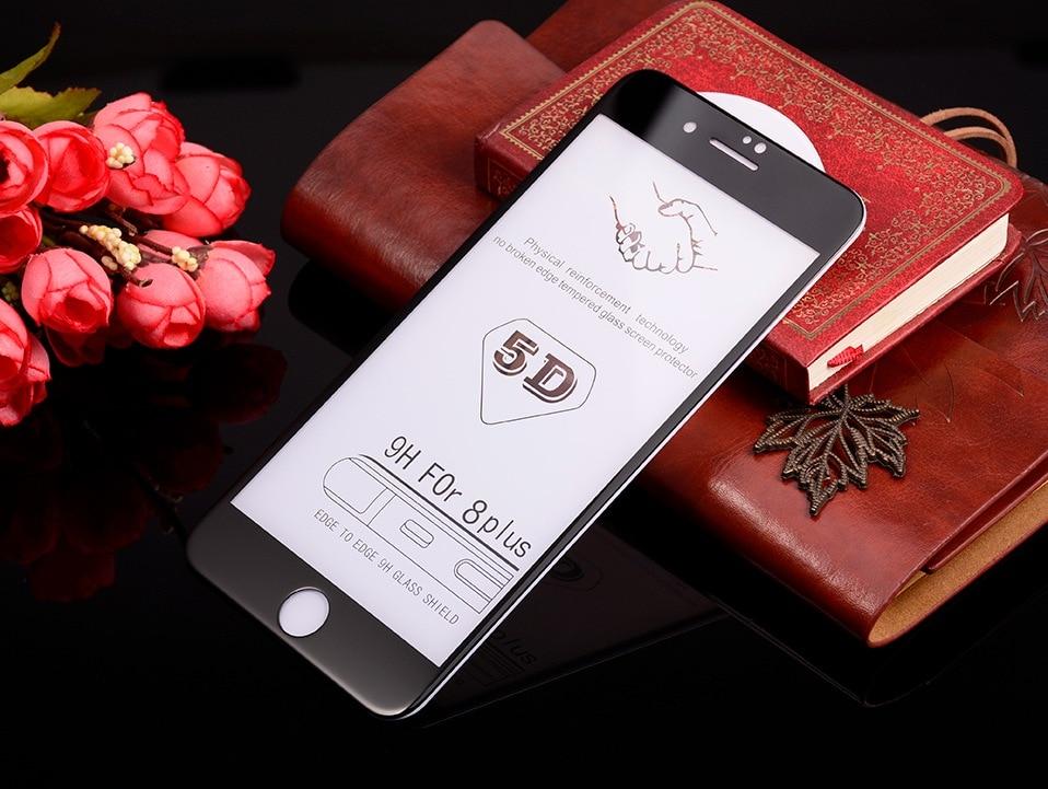5D Glasses for iPhone 6 6s plus Glass Film Full Cover iphone6 Screen Protector for iPhone 6 6s 7 8 plus x Tempered Glass 3D 4D (11)-3