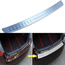 Stainless Steel Rear Bumper Sill Plate Trim Cover For Honda Accord Sedan 2013 2014 2015 Car Accessories
