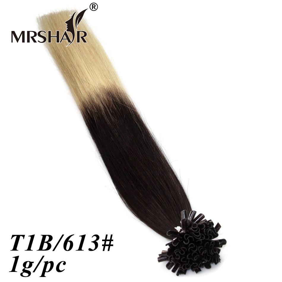 1g/Strand Nail Tip Hair Extension Brazilian Hair Human Remy Hair Straight Pre-Bonded Fusion Ombre Hair Tips Capsule 50g 100g<br><br>Aliexpress