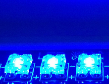 1000PCS x 4-Pin Super Flux Led Piranha Flat Top Piranha Led Lamp Beads Blue Piranha LED Diode Lamp