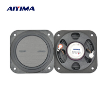 AIYIMA 2pcs Full Range Speaker 3 inch 8 ohm 15 W Flat Neodymium Speaker for Home Theater Speakers LCD TV Advertising Machine(China)