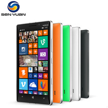 "Original Nokia Lumia 930 Mobile phone Quad core 2GB RAM 32GB ROM 20MP Camera 5""Touch screen 4G LTE 930 cell phone(China)"