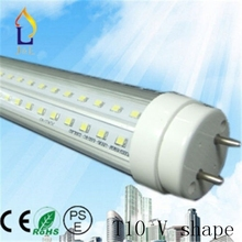 (25pcs/lot) T10 V shape tube 48W 8ft 40W 6ft 30W 5ft/3ft 24W 4ft 20W 2ft SMD2835 LED Tube light to replace fluorescent light