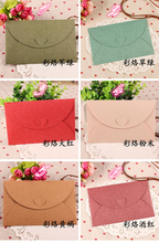 36pcs/lot 175mm*110mm 6 Colors Paper Envelopes Bags Wholesale Greeting Cards Invitations Announcements Assorted