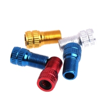 Buy Hot Sale 5pcs Converter Presta Schrader Tube Pump Tool Bicycle Tire Valve Adapter Bike for $1.49 in AliExpress store