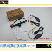 Wireless Car Rear View Camera / Reverse Camera For Citroen Elysee / Citroen C-Elysee / DIY Easy Installation / Reverse Hole